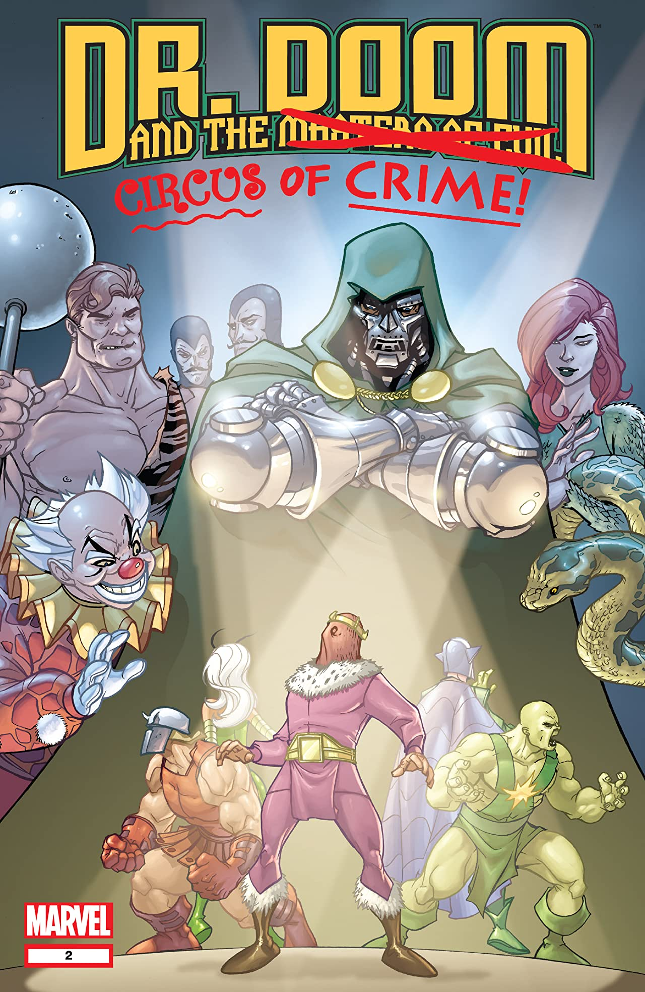 Doctor Doom and the Masters of Evil (2009) #2 (of 4)