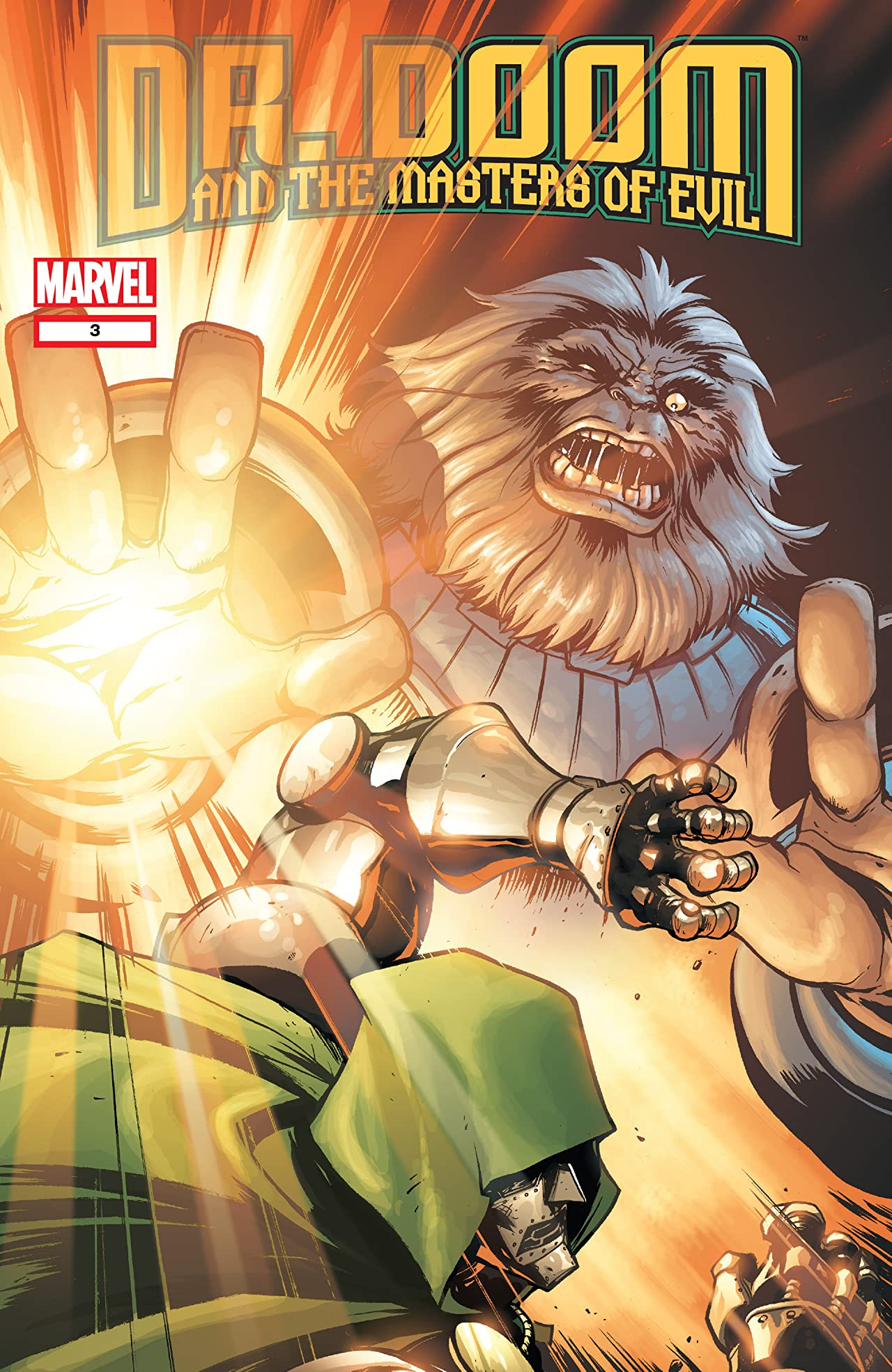 Doctor Doom and the Masters of Evil (2009) #3 (of 4)