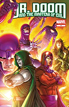 Doctor Doom and the Masters of Evil (2009) #4 (of 4)