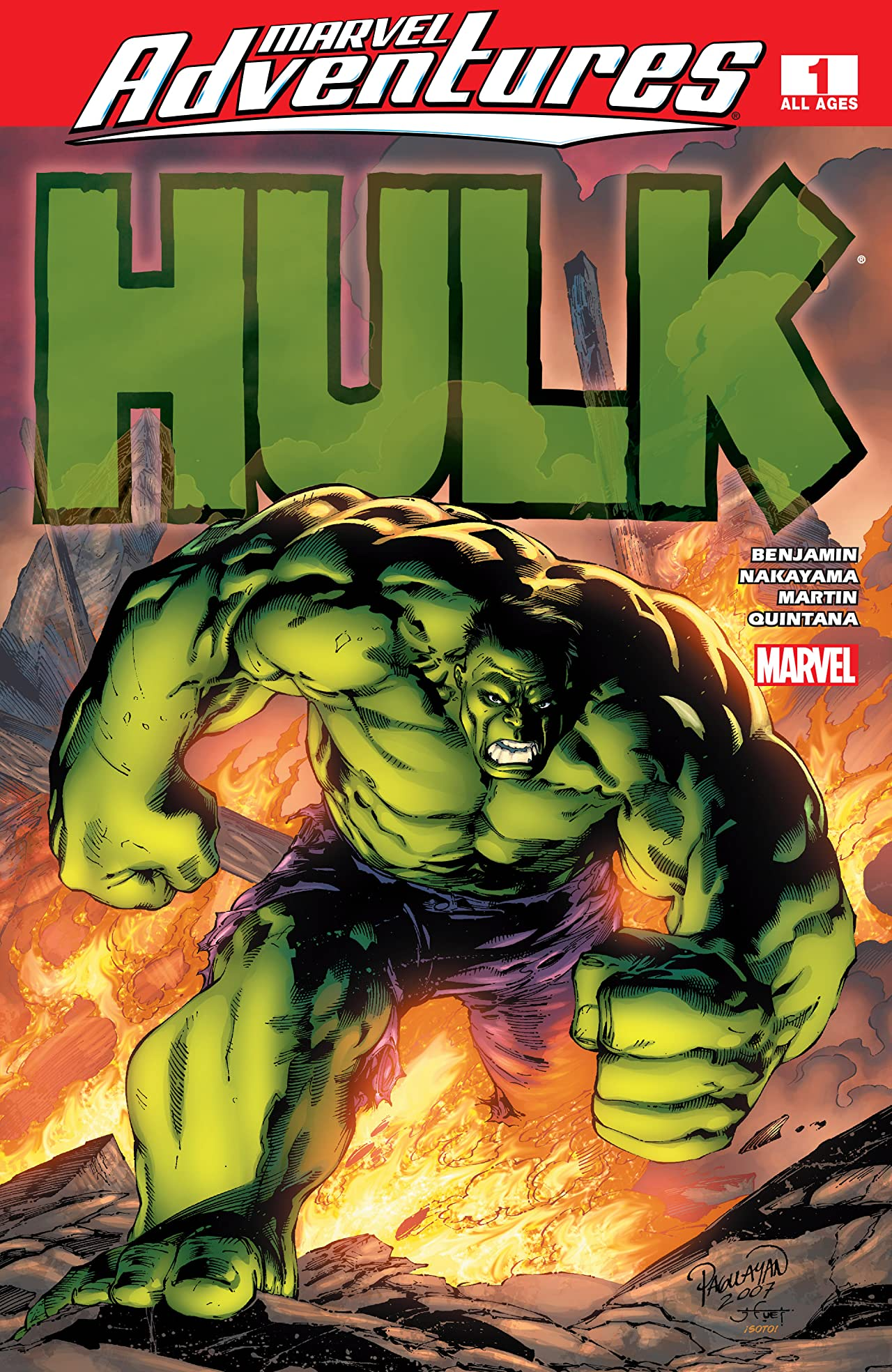 Marvel Adventures Hulk (2007-2008) #1