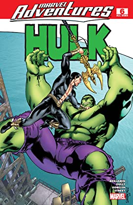 Marvel Adventures Hulk (2007-2008) #6