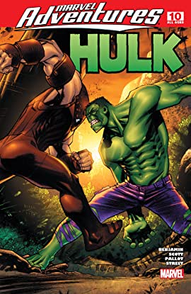 Marvel Adventures Hulk (2007-2008) #10