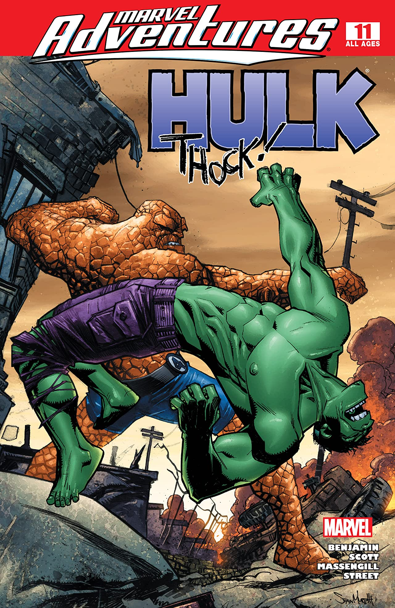 Marvel Adventures Hulk (2007-2008) #11