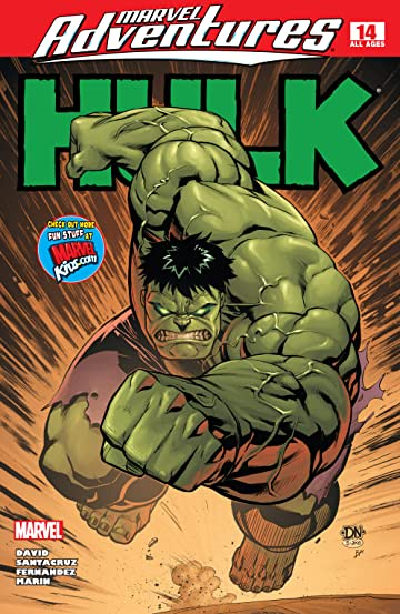 Marvel Adventures Hulk (2007-2008) #14