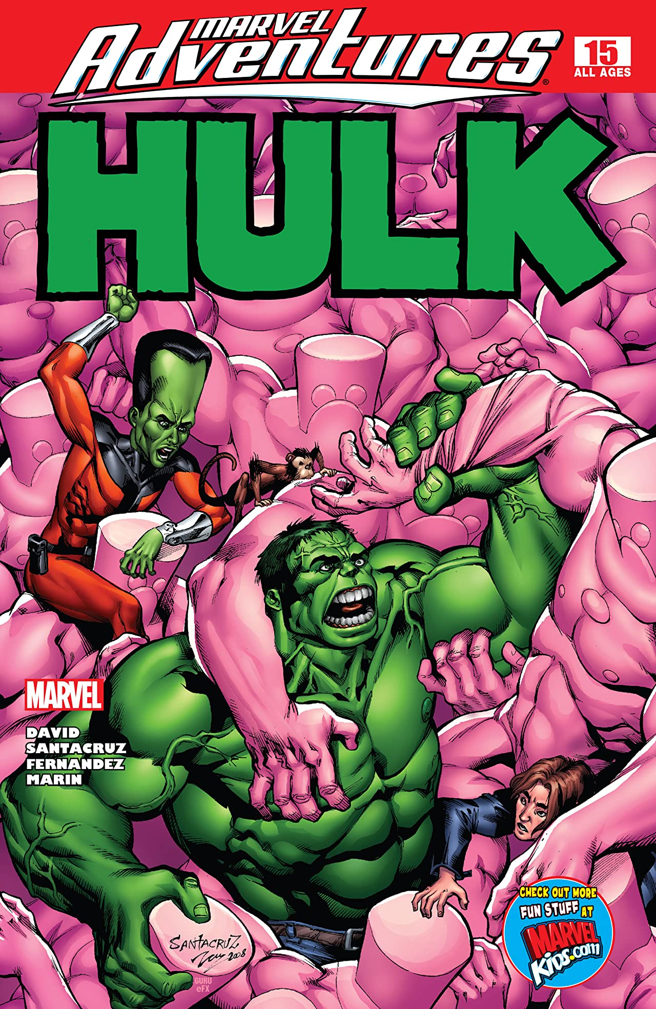 Marvel Adventures Hulk (2007-2008) #15