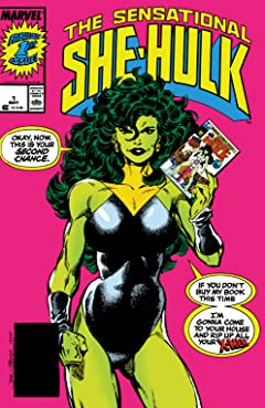 Sensational She-Hulk (1989-1994) #1