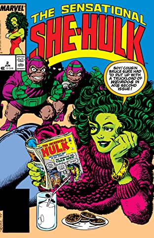 Sensational She-Hulk (1989-1994) #2