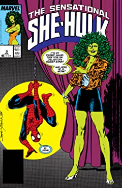 Sensational She-Hulk (1989-1994) #3