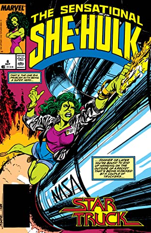 Sensational She-Hulk (1989-1994) #6