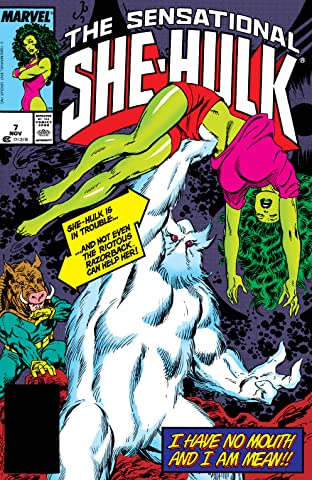 Sensational She-Hulk (1989-1994) #7
