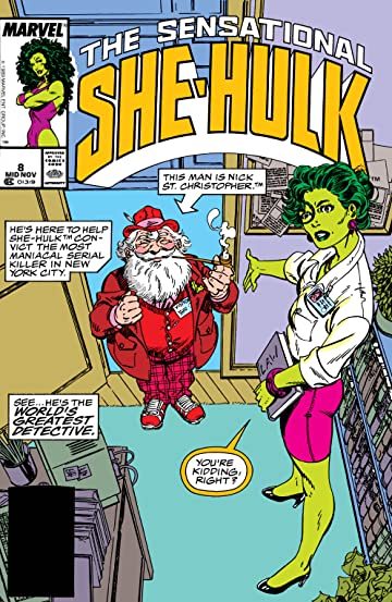 Sensational She-Hulk (1989-1994) #8