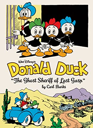 Walt Disney's Donald Duck Vol. 15: The Ghost Sheriff of Last Gasp