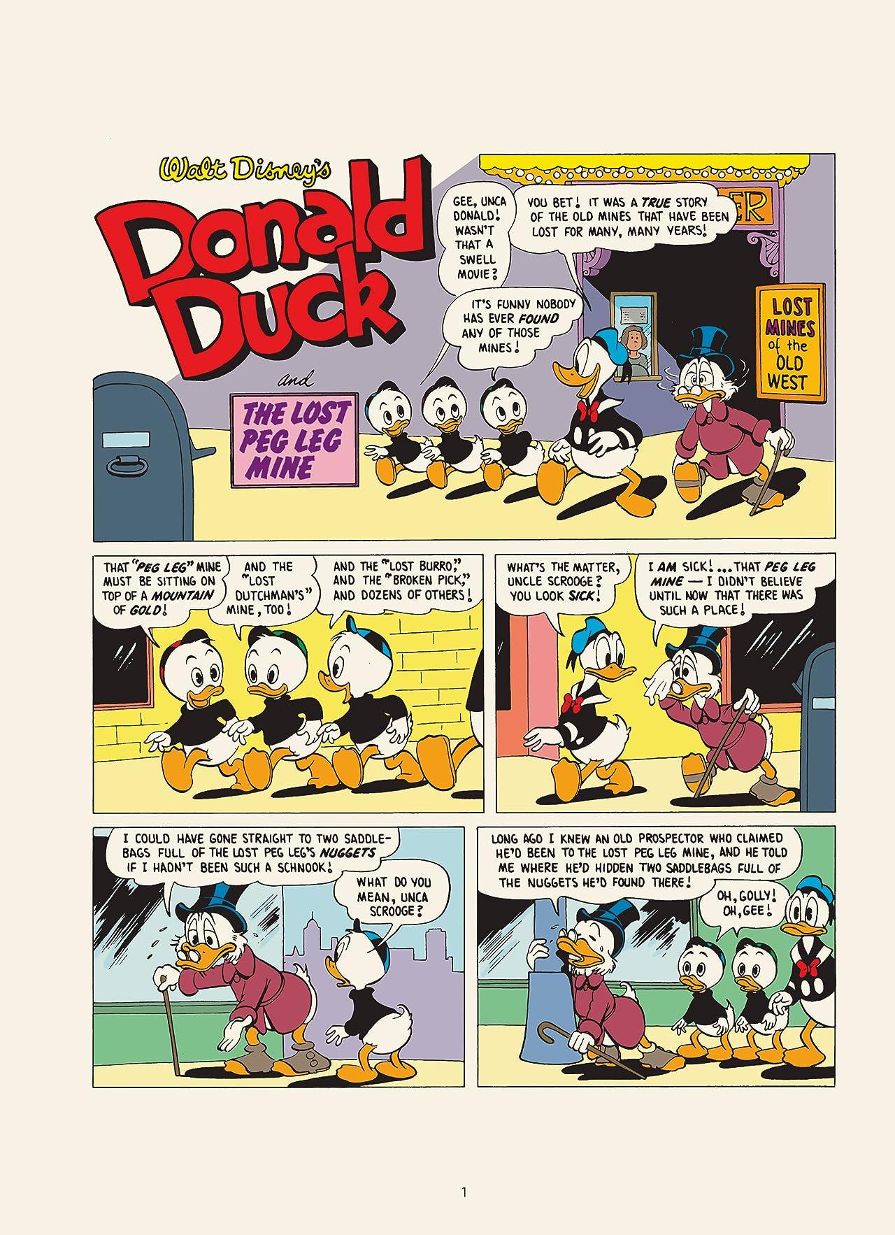Walt Disney's Donald Duck Vol. 18: The Lost Peg Leg Mine