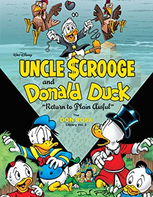 Walt Disney Uncle Scrooge and Donald Duck Tome 2: Return to Plain Awful