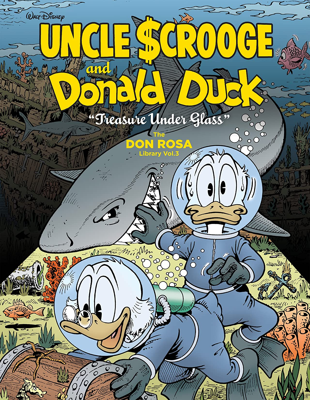 Walt Disney Uncle Scrooge and Donald Duck Vol. 3: Treasure Under Glass
