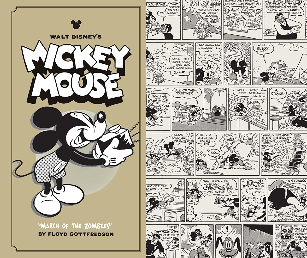 Walt Disney's Mickey Mouse Vol. 7: March of the Zombies