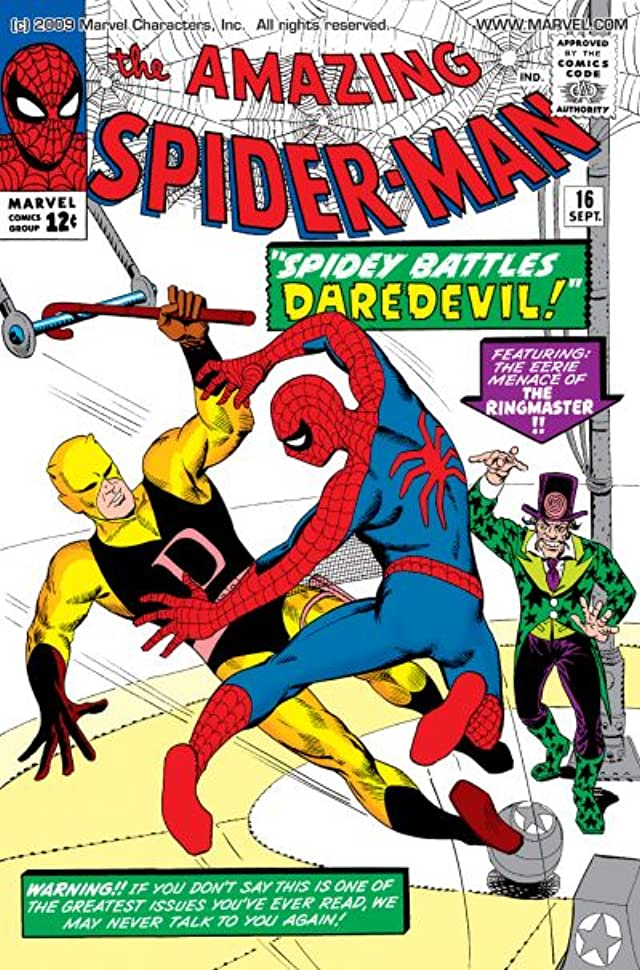 Amazing Spider-Man (1963-1998) #16