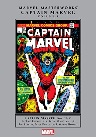Captain Marvel Masterworks Vol. 3