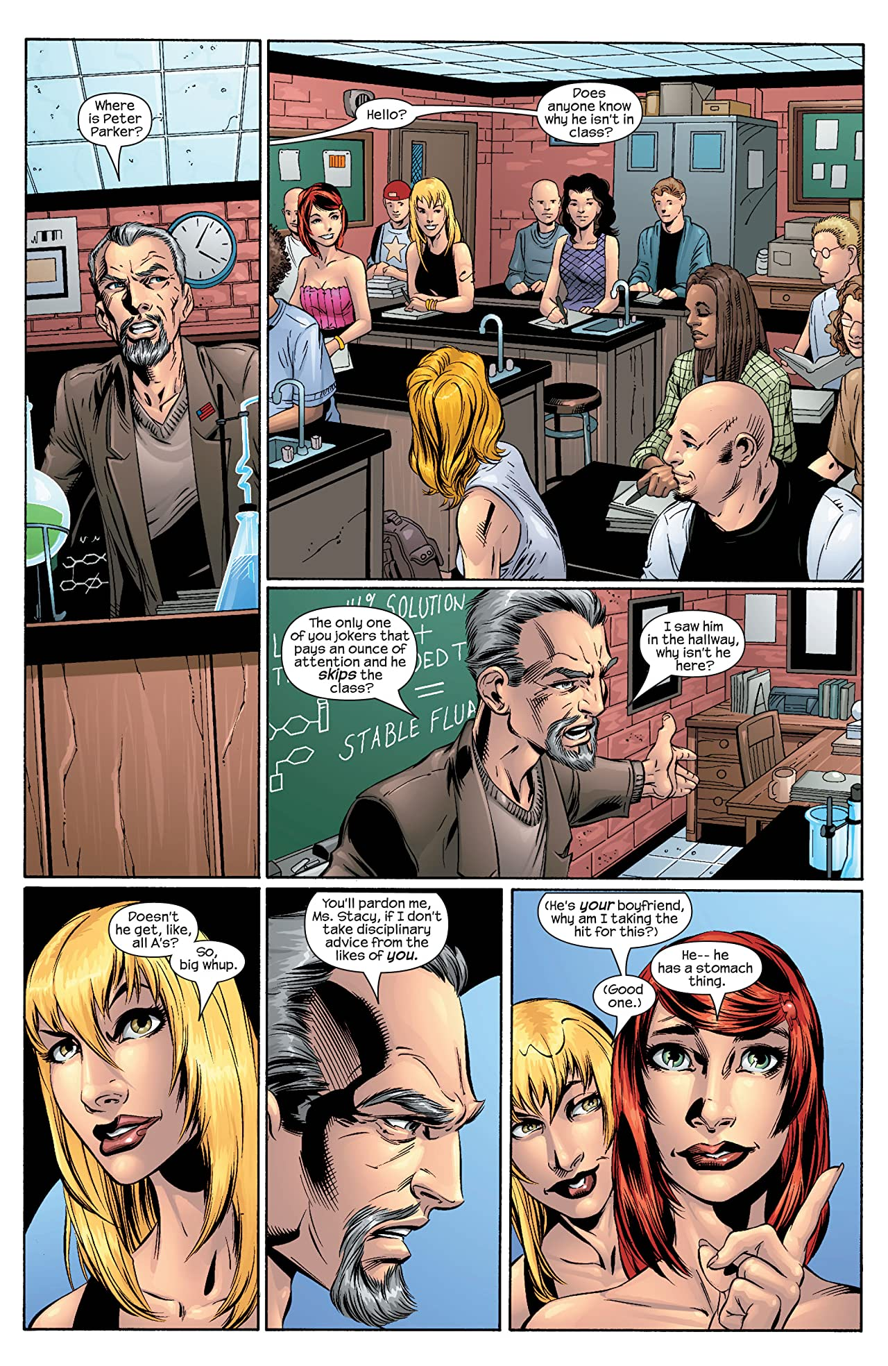 Ultimate Spider-Man (2000-2009) #43