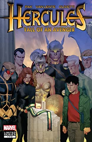 Hercules: Fall of An Avenger #1 (of 2)