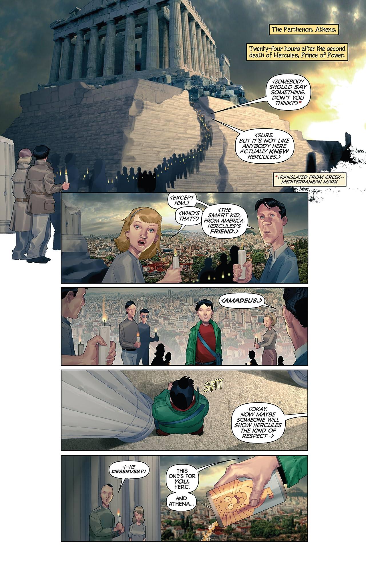 Hercules: Fall of An Avenger #1 (of 2)