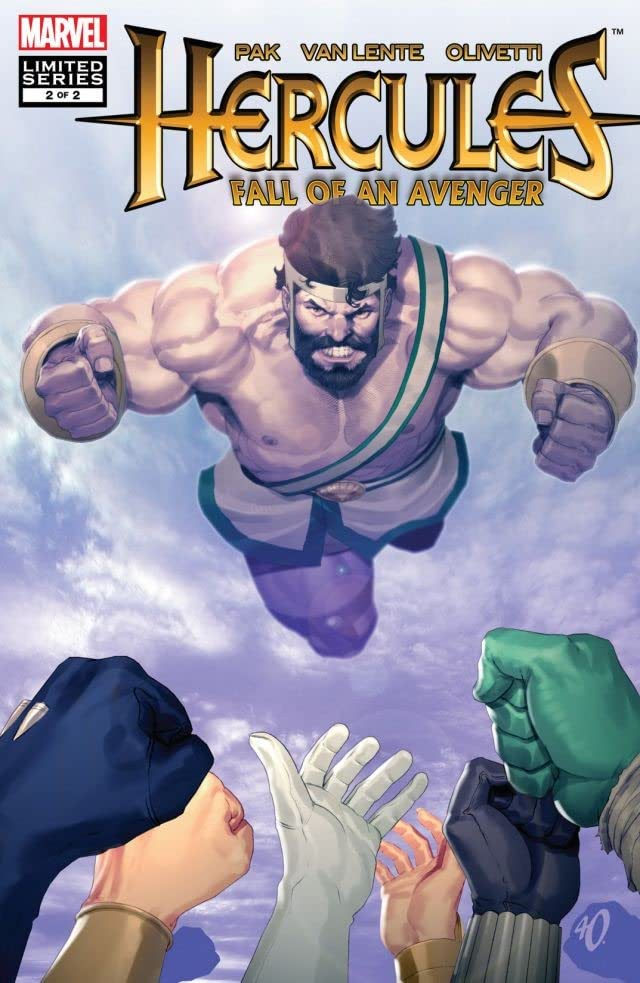 Hercules: Fall of An Avenger #2 (of 2)