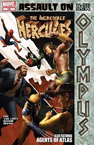 Incredible Hercules #139