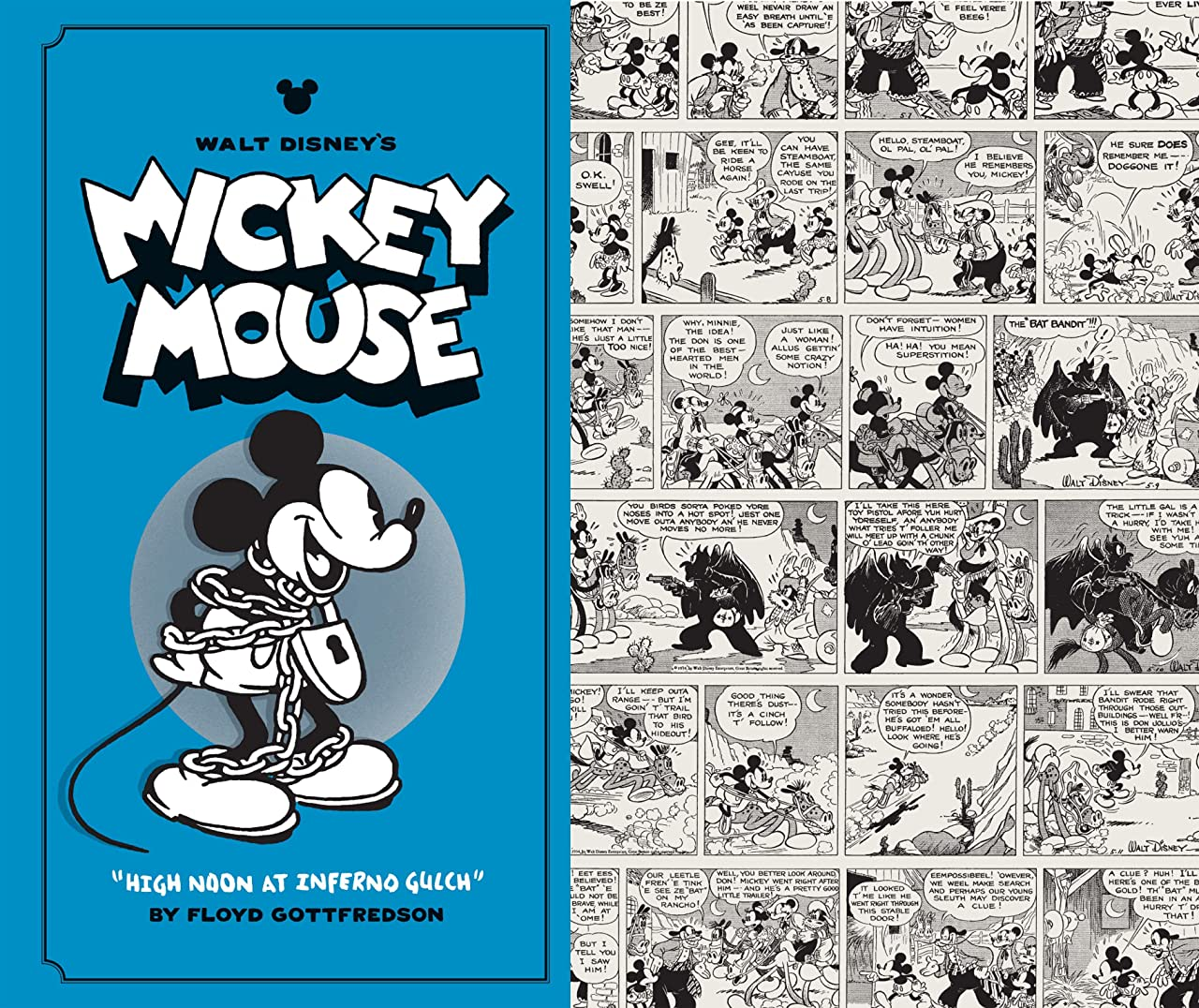 Walt Disney's Mickey Mouse Tome 3: High Noon at Inferno Gulch