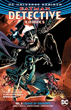 Batman - Detective Comics (2016-) Tome 3: League of Shadows