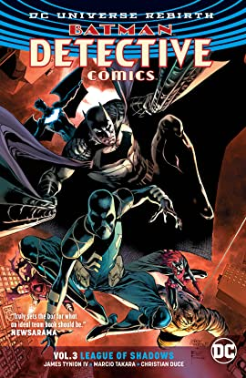 Batman - Detective Comics (2016-) Vol. 3: League of Shadows