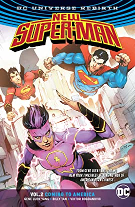 New Super-Man (2016-2018) Tome 2: Coming to America