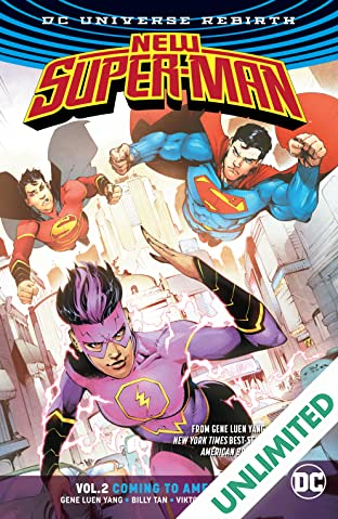 New Super-Man (2016-2018) Vol. 2: Coming to America