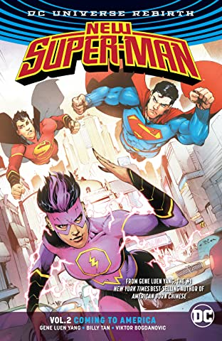 New Super-Man (2016-) Vol. 2: Coming to America