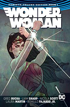 Wonder Woman: The Rebirth Deluxe Edition - Book 1