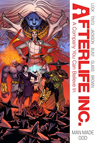 Afterlife Inc. Tome 4: Man Made God