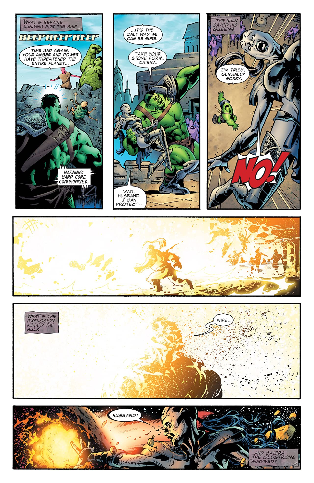 What If? Planet Hulk (2007) #1