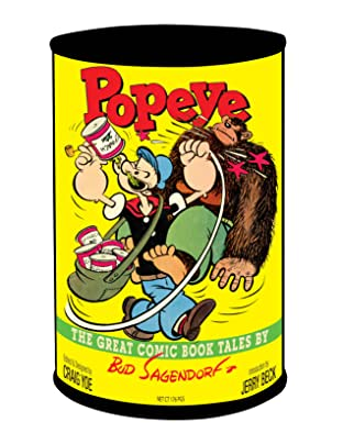 Popeye: The Great Comic Books Tales by Bud Sagendorf