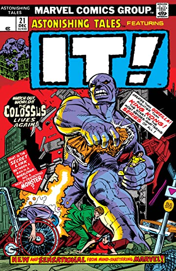 Astonishing Tales (1970-1976) #21