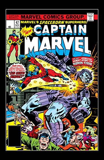 Captain Marvel (1968-1979) #47