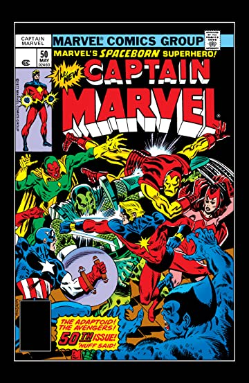 Captain Marvel (1968-1979) #50
