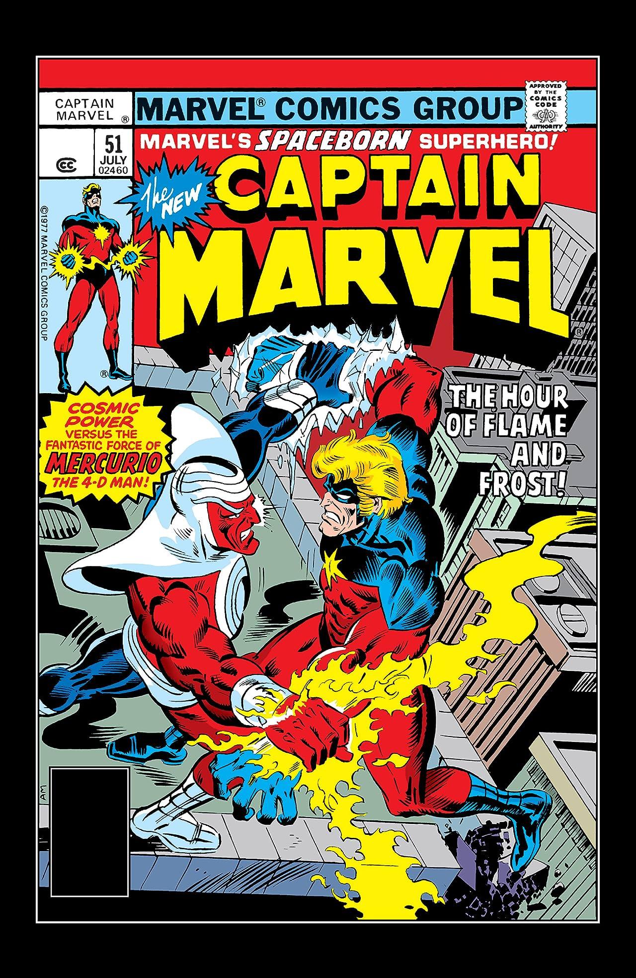 Captain Marvel (1968-1979) #51