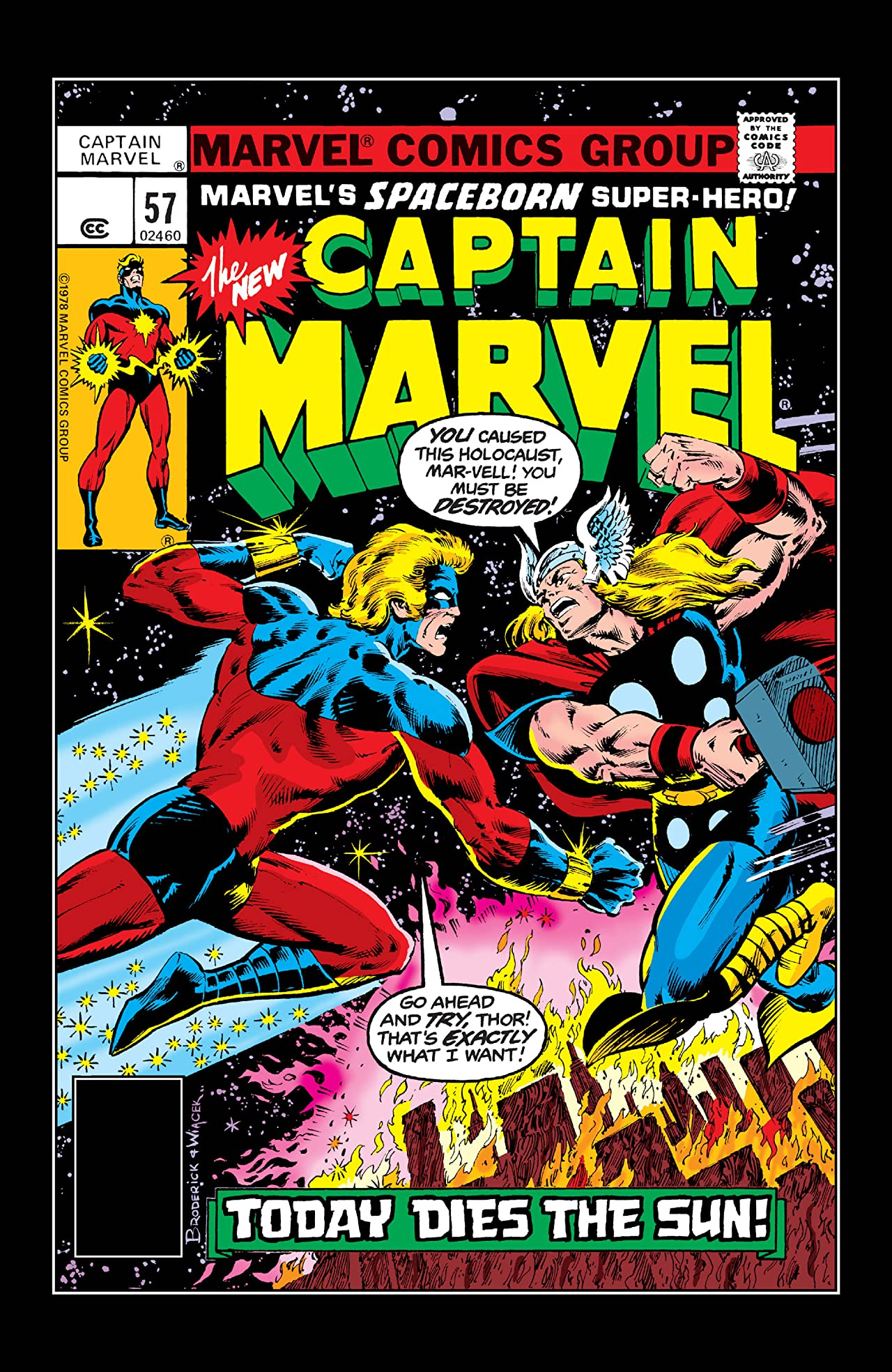 Captain Marvel (1968-1979) #57