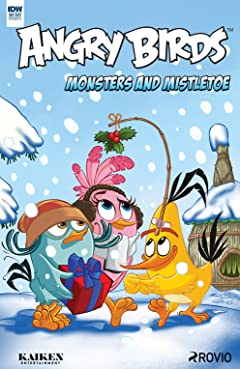 Angry Birds Comics Quarterly: Monsters & Mistletoe