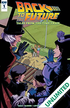 Back to the Future: Tales from the Time Train #1 (of 6)