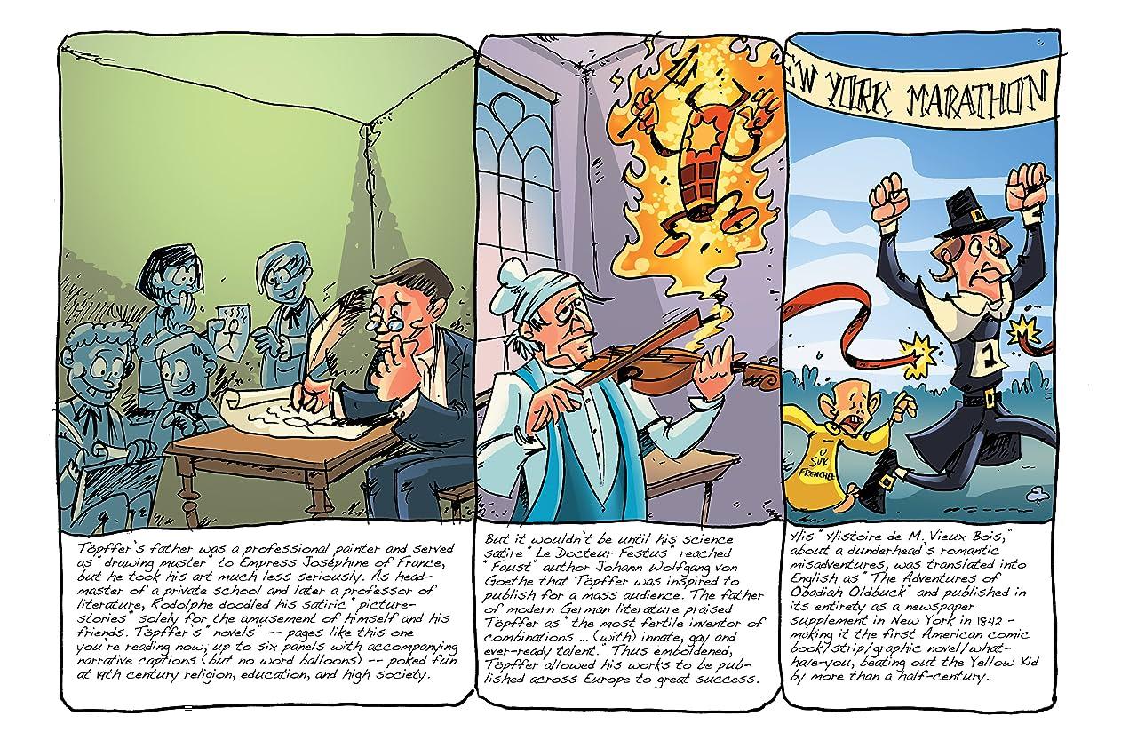 Comic Book History of Comics: Comics For All #1