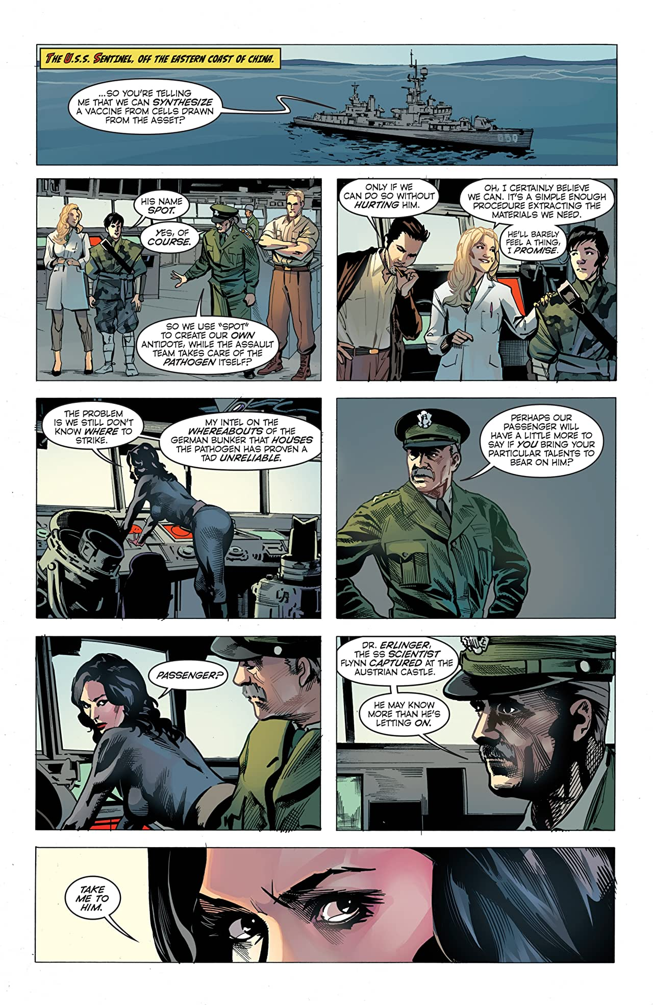 Half Past Danger II: Dead To Reichs #4 (of 5)