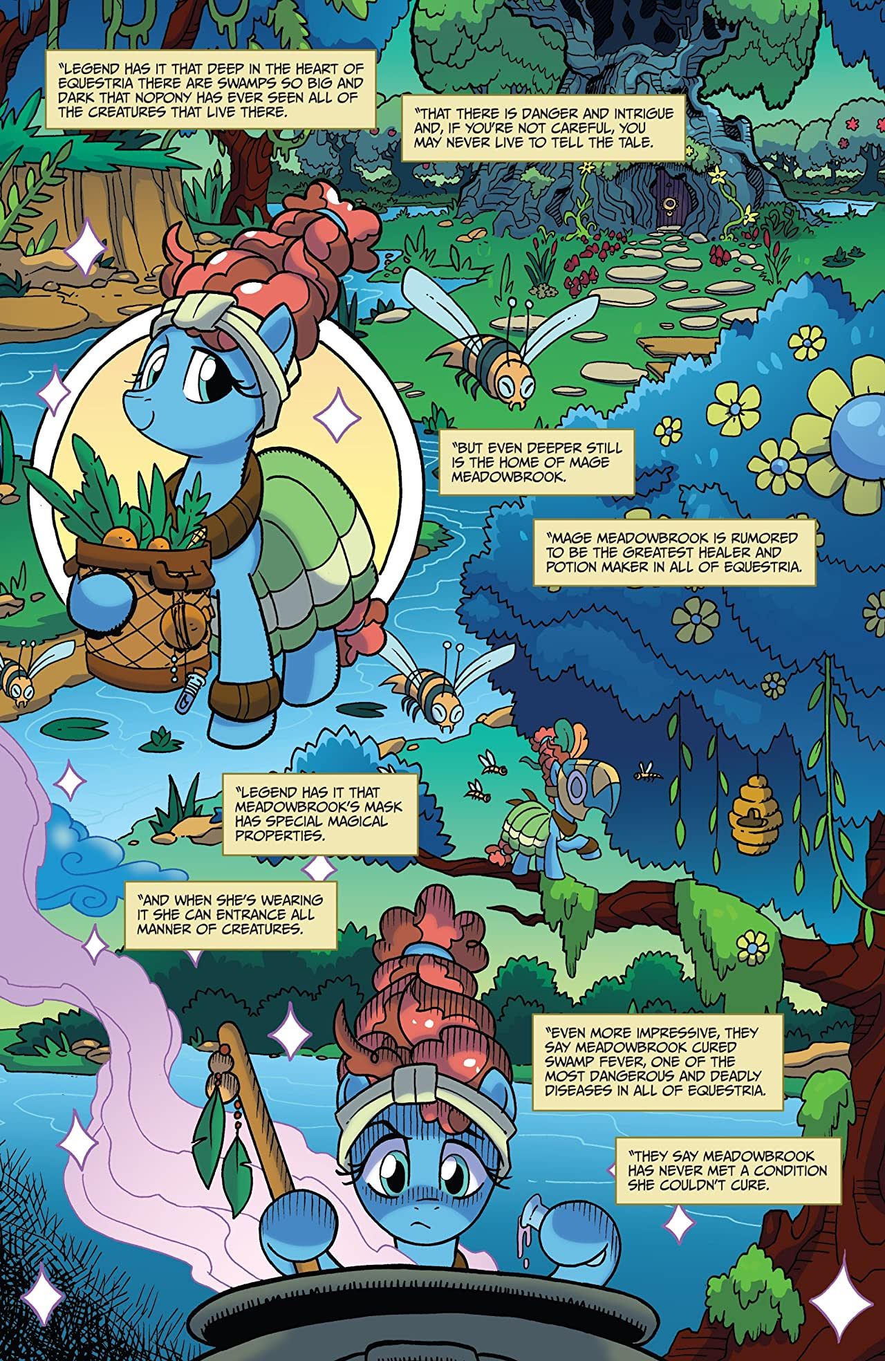 My Little Pony: Legends of Magic #9