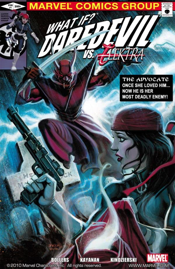 What If? Daredevil Vs. Elektra #1