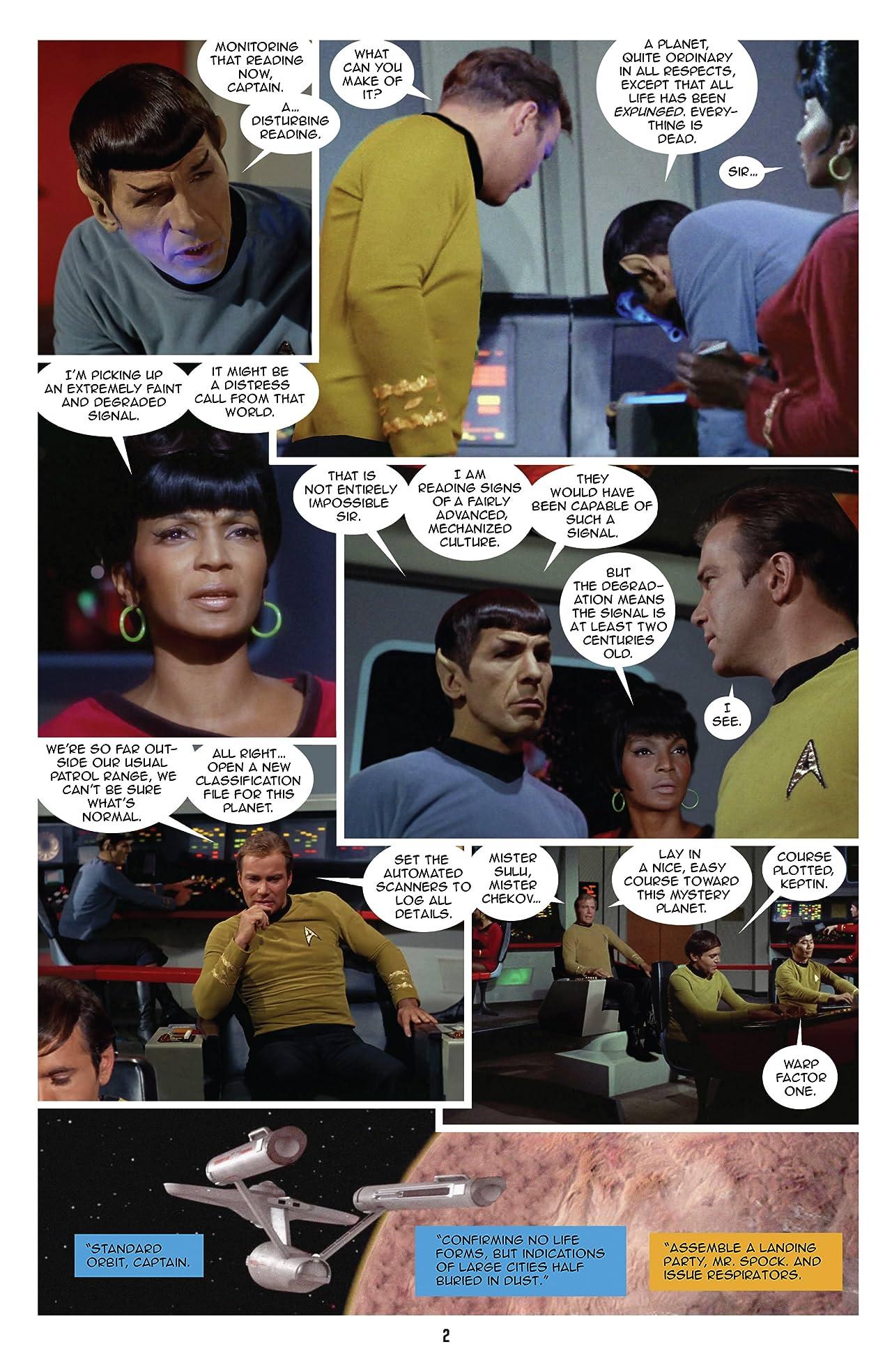 Star Trek: New Visions #19: The Hunger