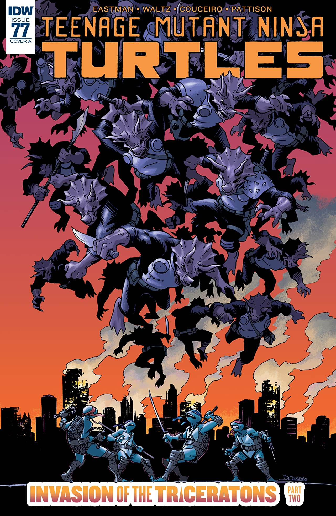 Teenage Mutant Ninja Turtles #77